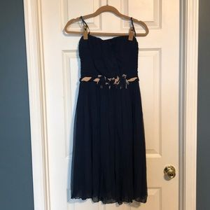 Max and Cleo blue dress